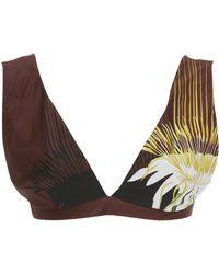 Lenny Niemeyer - Wide-strap Printed Bikini Top - Lyst