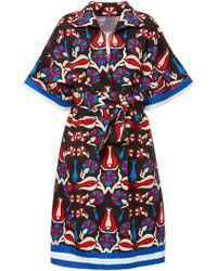 Rianna + Nina - Rena Printed Midi Dress - Lyst