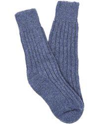 The Elder Statesman Yosemite Rib-knit Cashmere Socks