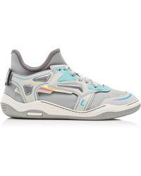 Lanvin - High Frequency Neoprene Sneakers - Lyst