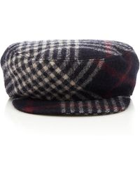 Isabel Marant - Naly Checked Wool Cap - Lyst