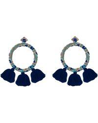 All Things Mochi - Sandra Earrings Blue - Lyst