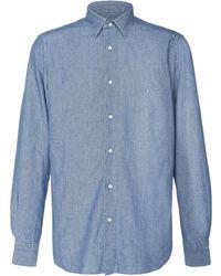 Boglioli - Chambray Sport Shirt - Lyst