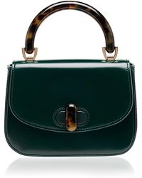 Edie Parker - Tortoise-detail Leather Mini Bag - Lyst