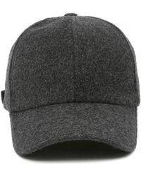 Officine Generale - Wool-cashmere Baseball Cap - Lyst