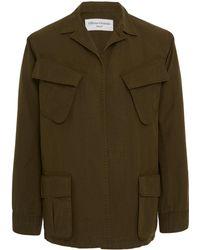 Officine Generale - Patch Pocket Military Jacket - Lyst
