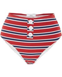 Onia - Sam Striped Bikini Briefs - Lyst