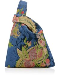 Hayward - Floral Silk Jacquard Mini Shopper Bag - Lyst