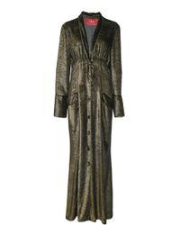 F.R.S For Restless Sleepers - Dedalo Deep V Pyjama Dress - Lyst