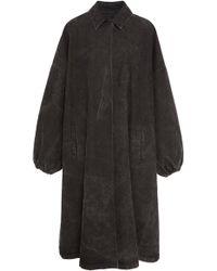 Sally Lapointe - Oversized Denim Coat - Lyst