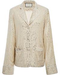 Alexis - Ripley Sequin Jacket - Lyst