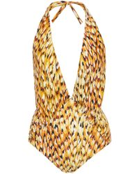 Lenny Niemeyer - Plunging One Piece Swimsuit - Lyst