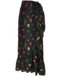 Carolina K - Lola Wrap Skirt - Lyst