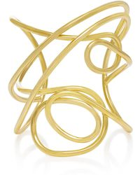 Joanna Laura Constantine | Gold-plated Multi Knot Cuff | Lyst