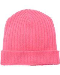 The Elder Statesman - Summer Rib-knit Cashmere Hat - Lyst