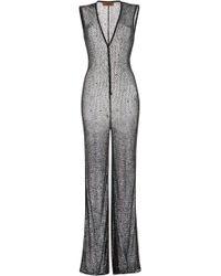 Missoni - Belted V-neck Jumpsuit - Lyst