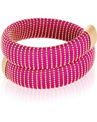Carolina Bucci | Magenta Caro Gold-plated Bracelet | Lyst