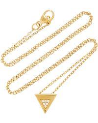 Miansai - Faction 14k Gold Diamond Necklace - Lyst