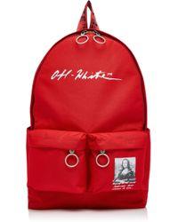 Off-White c/o Virgil Abloh - Monnalisa Dual-pocket Logo Backpack - Lyst