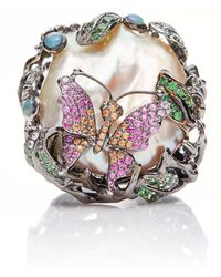 Wendy Yue - Pearl Garden Ring - Lyst