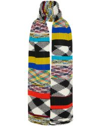 Missoni - Fringed Crochet-knit Cashmere Scarf - Lyst