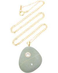 CVC Stones - Hunter 18k Gold, Stone And Diamond Necklace - Lyst