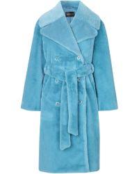 Stine Goya - Happy Faux Fur Coat - Lyst