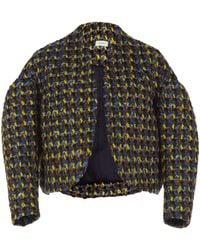 Tweed Delpozo Jacket Lyst Tweed Short Jacket Delpozo Short 1axnqXw77