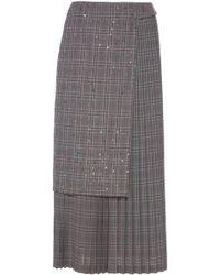 Rahul Mishra - Laufen Pleated Skirt - Lyst
