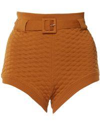 Ellery - Pare-up Pointelle Knit Hot Pants - Lyst