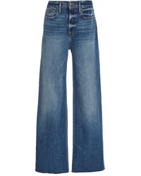 FRAME - Heritage California High-rise Wide-leg Jeans - Lyst