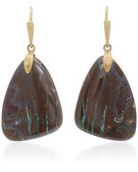 Annette Ferdinandsen - 18k Gold Yahwah Opal Earrings - Lyst