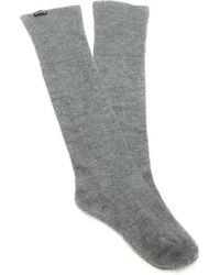 Rochas - Calzino Cashmere Sock - Lyst