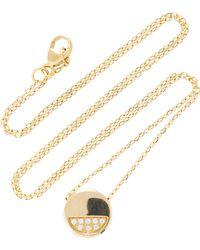 Miansai - Circuit 14k Gold Diamond Necklace - Lyst