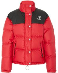 RE/DONE - Cropped Down Puffer Jacket - Lyst