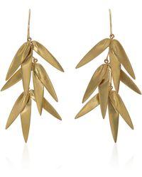 Annette Ferdinandsen - Exclusive: Golden Bamboo Cluster Earring - Lyst