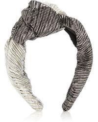 Eugenia Kim - Maryn Knotted Lame Headband - Lyst