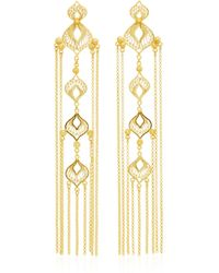Mallarino - Elena Sterling Silver And 24k Gold Vermeil Earrings - Lyst
