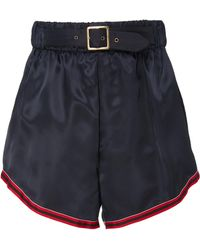Cynthia Rowley - Hudson Belted Boxing Short - Lyst