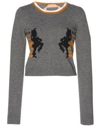 N°21 - Lidia Crew Neck Sweater - Lyst