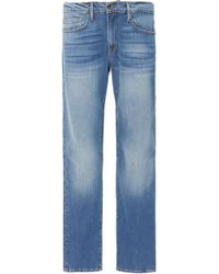 FRAME - L'homme Faded Slim Jeans - Lyst
