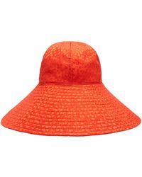 Federica Moretti - Floppy Silk Sun Hat - Lyst