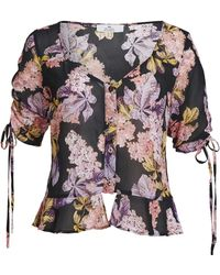 We Are Kindred - Stevie Crepe De Chine Blouse - Lyst