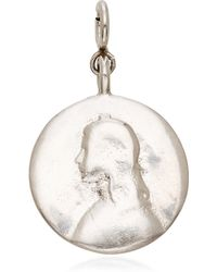 Ten Thousand Things Joan Of Arc Round Charm