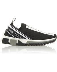 Dolce & Gabbana - Black Sorrento Trainers - Lyst
