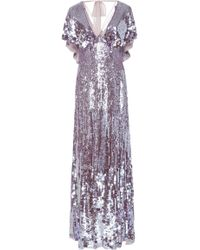 Temperley London - Exclusive Bardot Sequin Maxi Dress - Lyst
