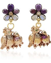 Sylvie Corbelin - M'o Exclusive: One-of-a-kind Love Bird Earrings - Lyst
