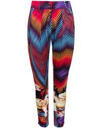 Adriana Iglesias - Hudson Pleated Silk Satin Trousers - Lyst
