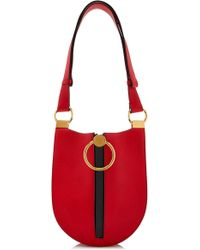 Marni - Earring Small Leather-blend Bag - Lyst