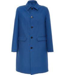 Eidos Cotton-gabardine Coat